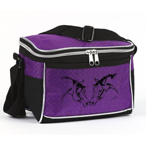 Lila Blakeslee Lunch Cooler with Horse Heads