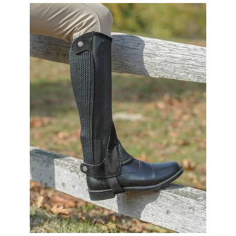 Shires Childrens Mesh Half Chaps