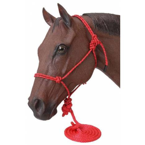Tough-1 Miniature Poly Rope Halter with Lead