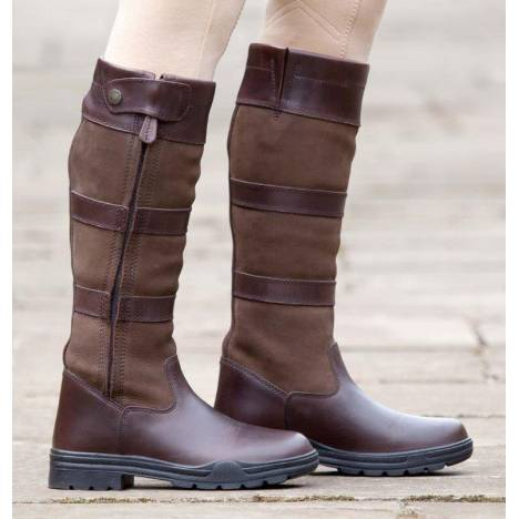 Shires Broadway Long Leather Boots