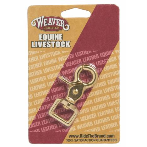Weaver Leather Solid Brass Snap Square Scissor