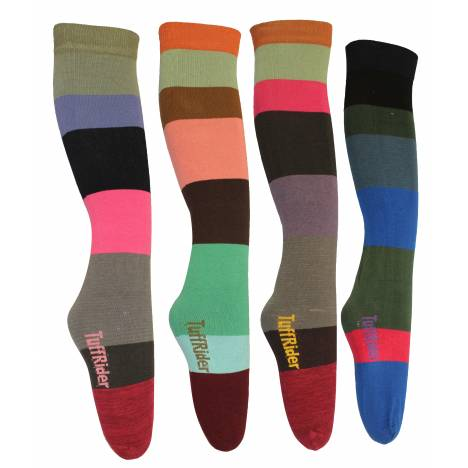 TuffRider Striped Socks