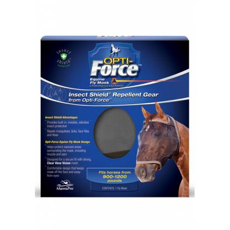 Manna Pro Opti-Force Equine Fly Mask