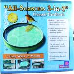All Seasons 3-In-1 Heated Birdbath