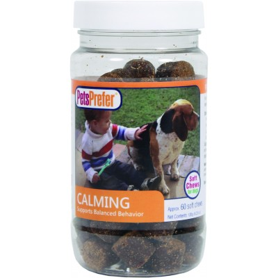 Pets Prefer Calming Soft Chews For Dogs - 60 Count