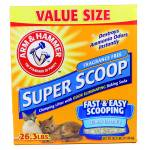 Arm & Hammer Super Scoop Unscented Litter