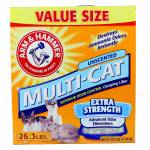 Arm & Hammer Multi-Cat Unscented Litter - Extra Strength
