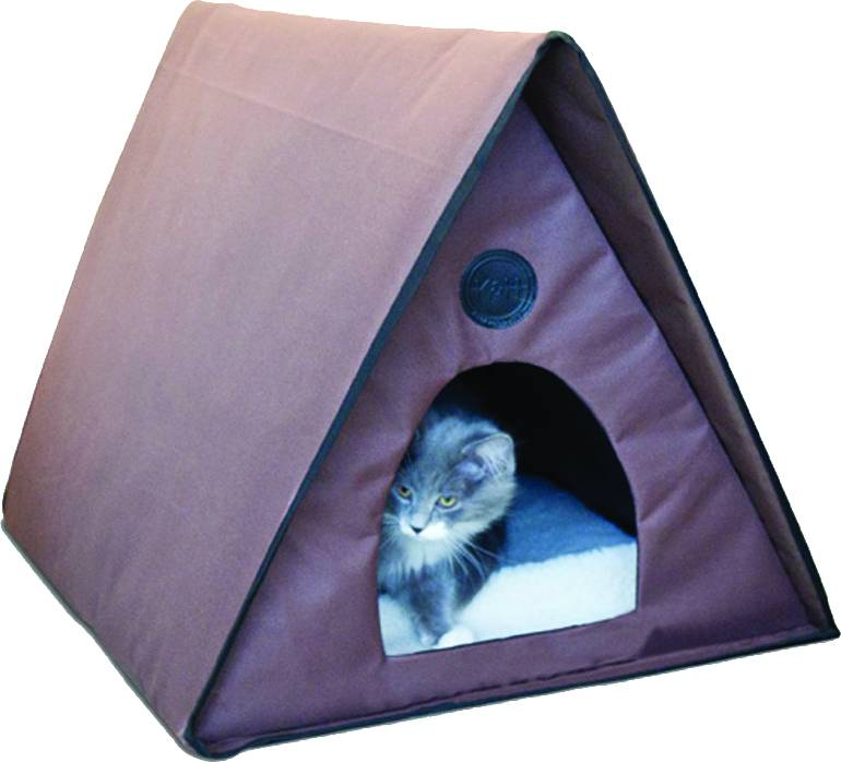 How to make a waterproof cat house