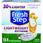 Fresh Step Lightweight Extreme Scoopable Litter