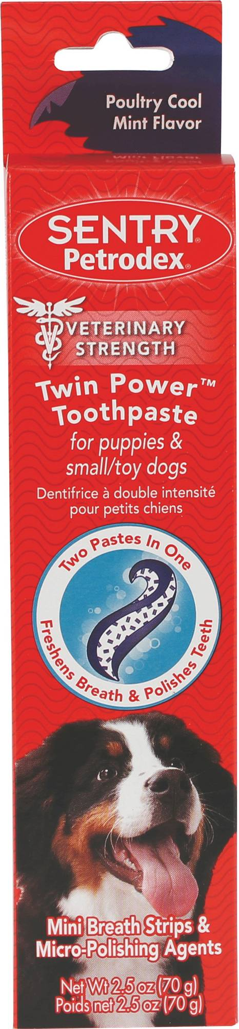 Sentry Petrodex Twin Power Toothpaste For Puppies
