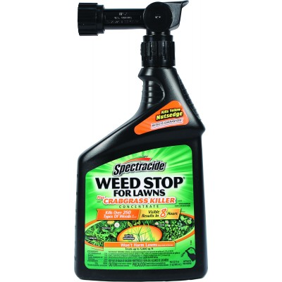 Spectracide Weed Stop Lawns Crabgrass Killer RTU - 32 Oz