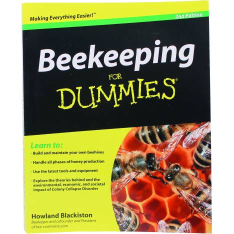 Miller Mfg Beekeeping For Dummies Book