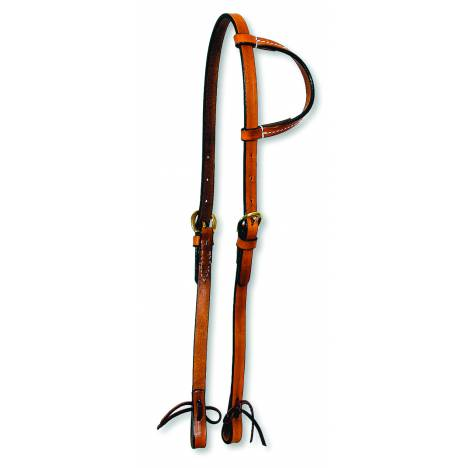 Circle Y One Ear-Single Ply-Tie Headstall