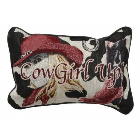 Gift Corral Cowgirl Up Throw Pillow