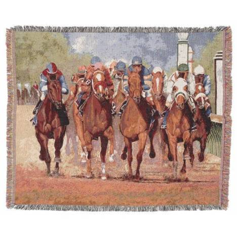 Gift Corral Thunder Hooves Throw