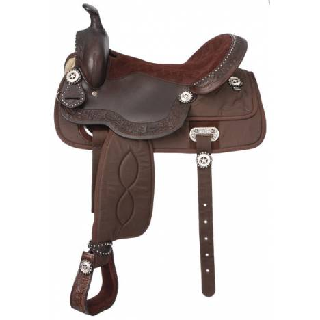 King Series Krypton Pro Trail Saddle Package