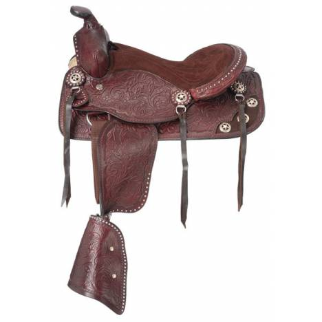Tough-1 Jr. Plainsman II Pony Saddle Package