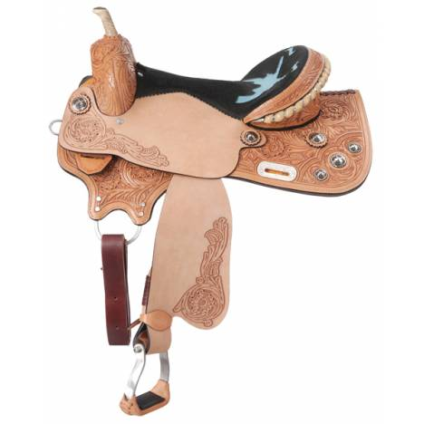 Tough-1 Treeless Shooter Saddle Package