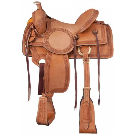 Tough-1 Red Oak Rancher Saddle Package
