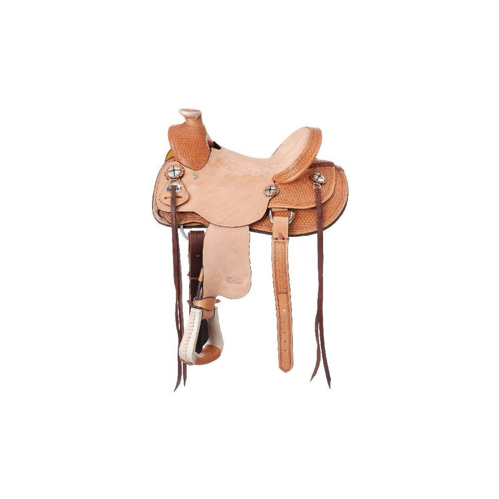 Silver Royal Wylie Kid Wade Saddle Package