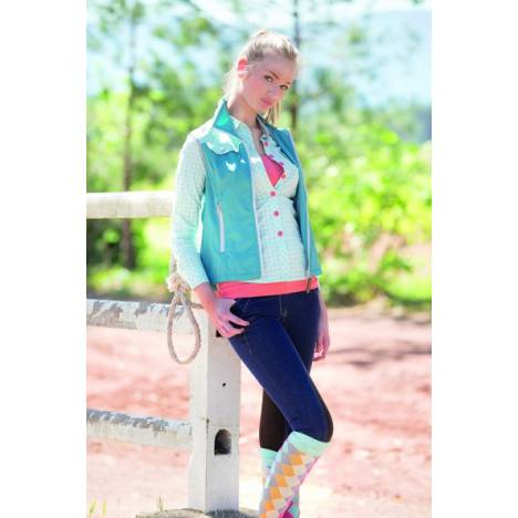 Horseware Summer Ladies Denim Breeches