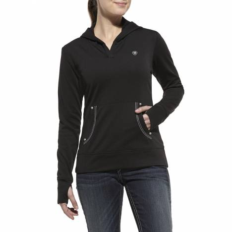 ARIAT Womens Tek Fleece Pullover Hoodie