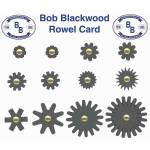 Blackwood Rowel Card
