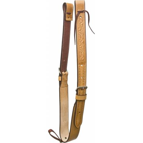 Billy Cook Saddlery Oak Leaf Tooled Flank Set