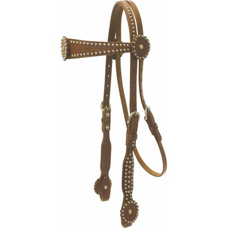 Cowboy Pro Flared Browband Headstall