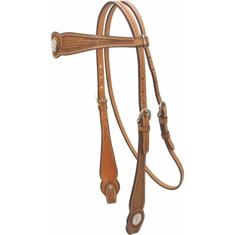 Cowboy Pro Basket Browband Headstall