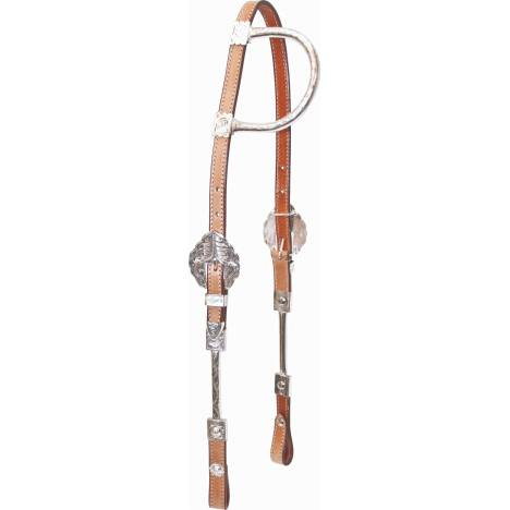 Cowboy Pro One Ear Show Headstall
