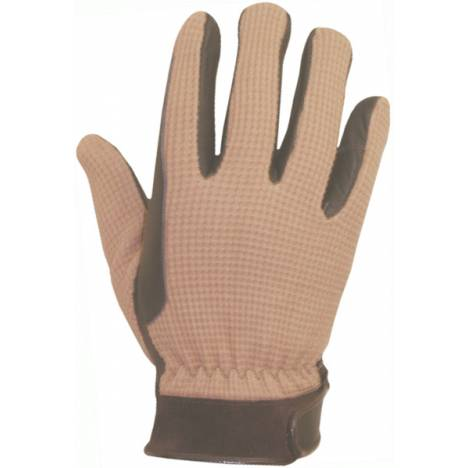 Abetta Mens Crochet Riding Gloves