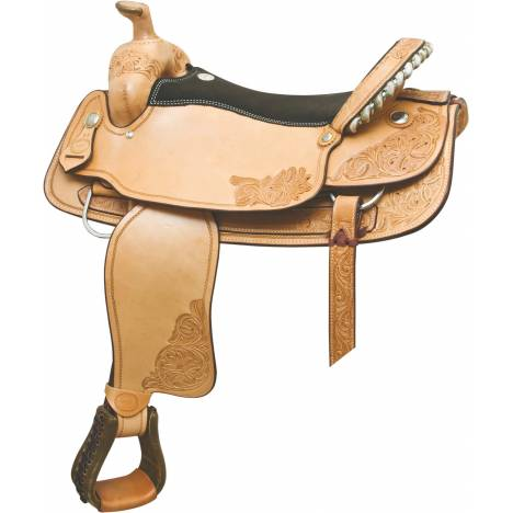 Billy Cook Saddlery Floral Combo Roper Saddle