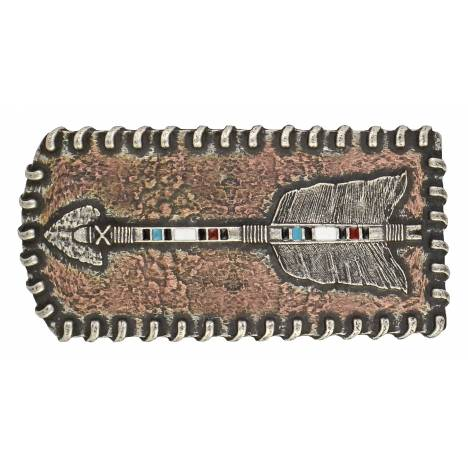 Montana Silversmiths Arrow Patch Attitude Buckle