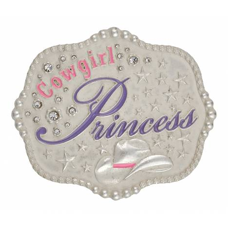 Montana Silversmiths Cowgirl Princess Kid'S Attitude Buckle