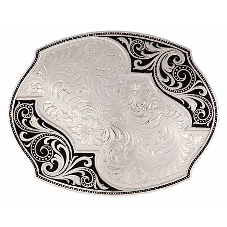 Montana Silversmiths Western Lace Whisper Flourish Buckle