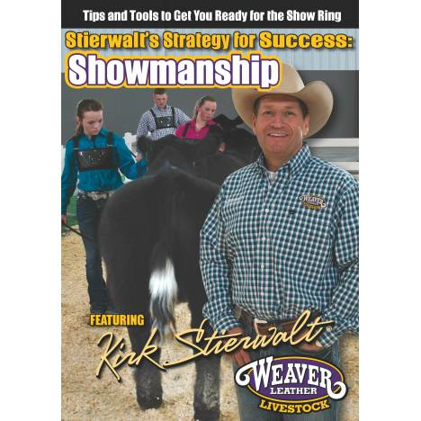 Weaver Stierwalt's Strategy For Success: Showmanship Dvd