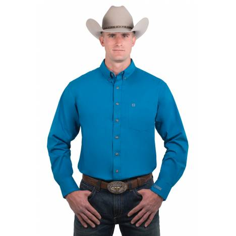 Noble Outfitters Mens Generations Fit Long Sleeve Shirt - Solid Colors