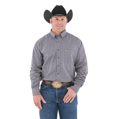 Noble Outfitters Traditions Long Sleeve Shirt - Forestry Plaid - Small
