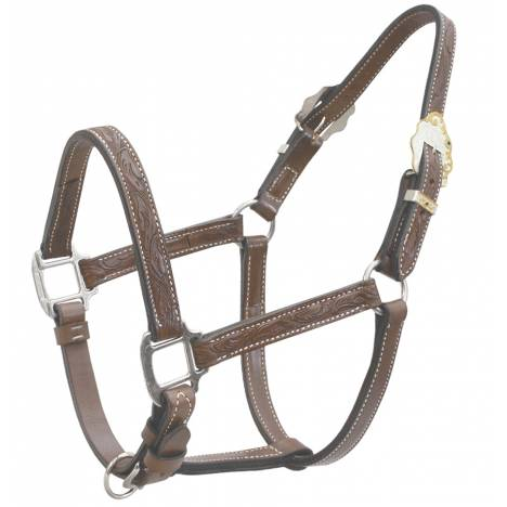 Billy Cook Saddlery Tooled Show Halter