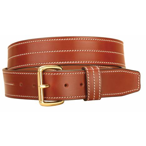 Tory Leather Heavy Triple Stitching Leather Belt
