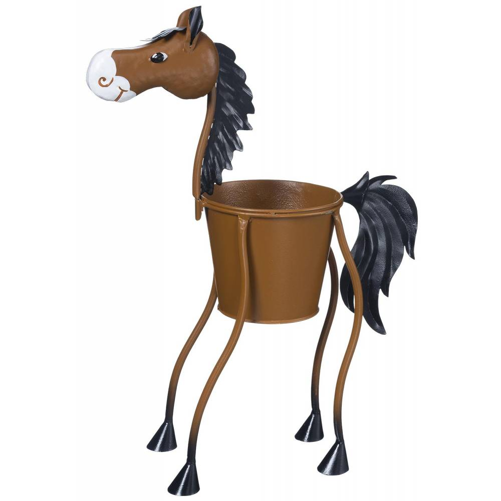 Small Home Decor Gifts: Gift Corral Horse Planter - Small