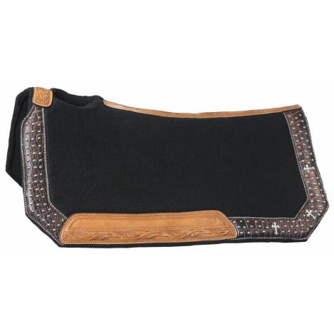 Silver Royal Desert Hope Wool Contoured Saddle Pad
