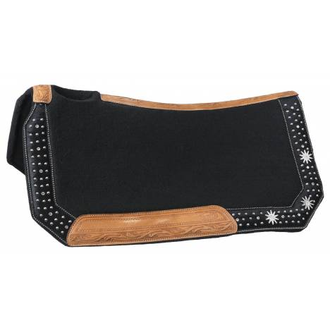 Silver Royal High Noon Wool Contoured Saddle Pad