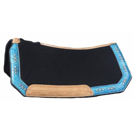 Silver Royal Trinity Wool Contoured Saddle Pad