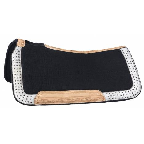 Silver Royal Arizona Wool Contoured Saddle Pad