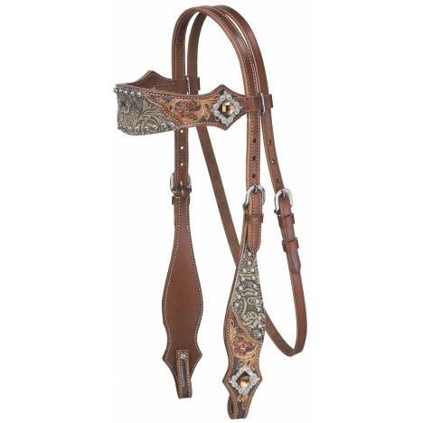 Silver Royal Jameson Browband Headstall
