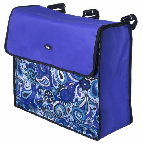 Tough-1 Blanket Storage Bag In Paisley Shimmer Print