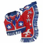 Tough-1 Kids Barrel Horse Chap & Vest