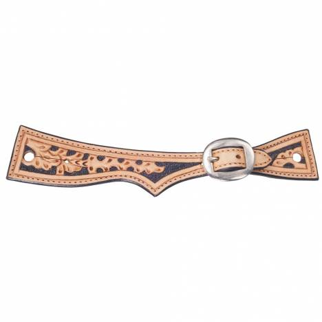 Tough-1 Floral Square End Spur Straps